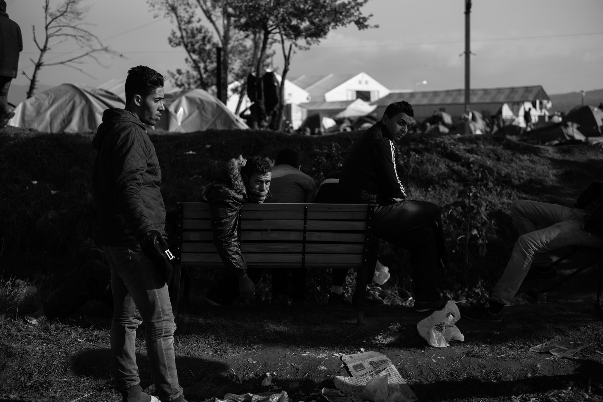 Saturday, December 5. 2015 in Idomeni, Greece.