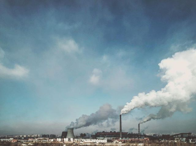 Government has said that these 4 coal plants in Ulaanbaatar dont pollute particle matter- this is wrong and pure propaganda. Bringing home hard evidence and measurements. #photojournalism